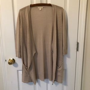 Eileen Fisher Linen Cardigan Size XS